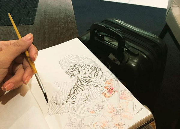Ilustradora Vanessa Gani